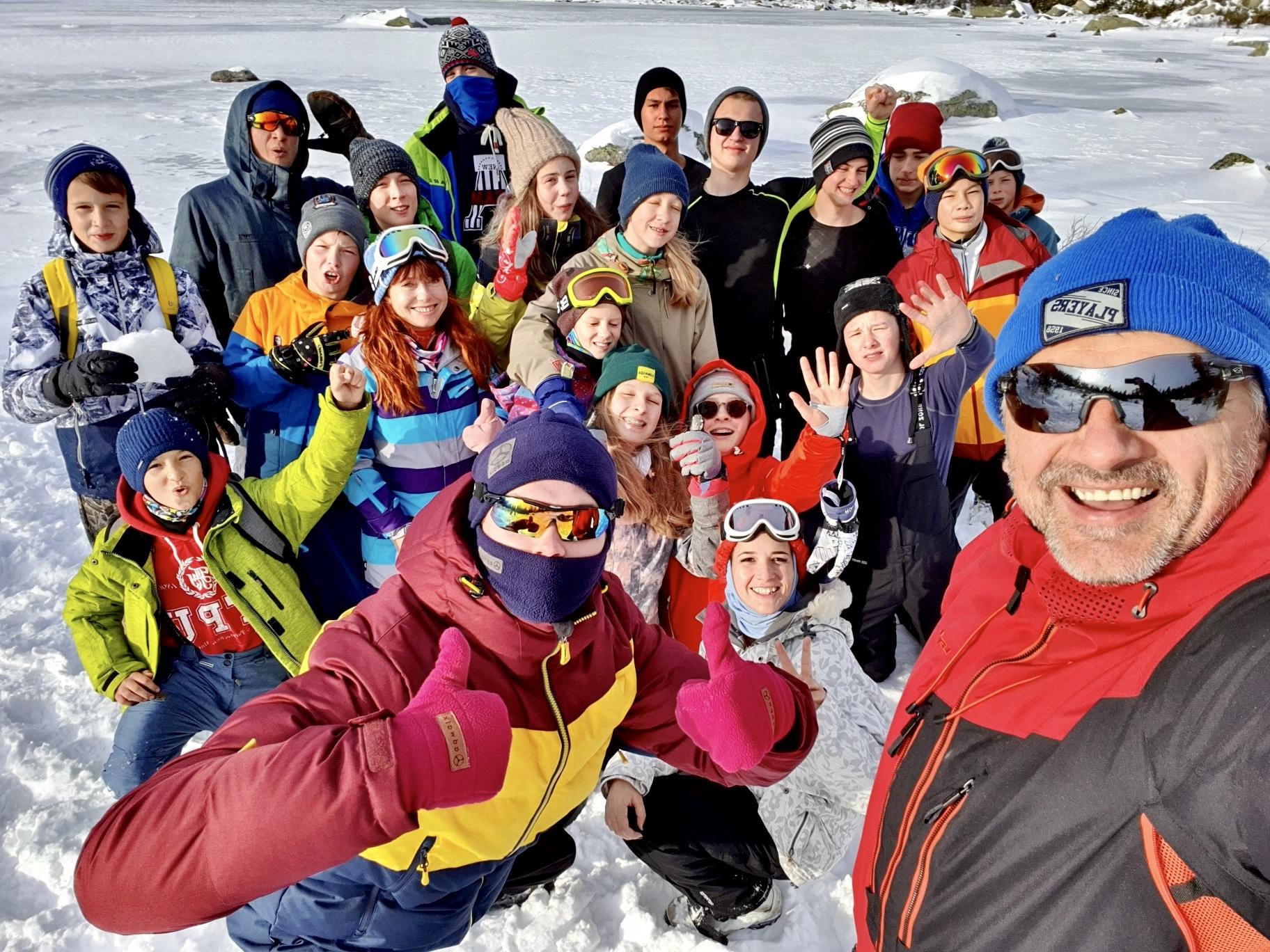 Осенний Лагерь Уникум, Школа Сноуборда и Горных лыж